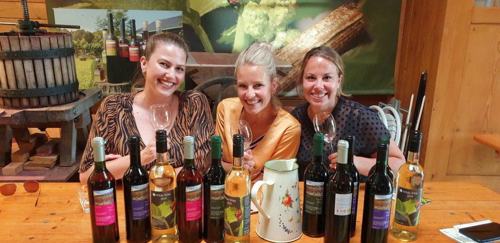 heerlijke wijnproeverij
