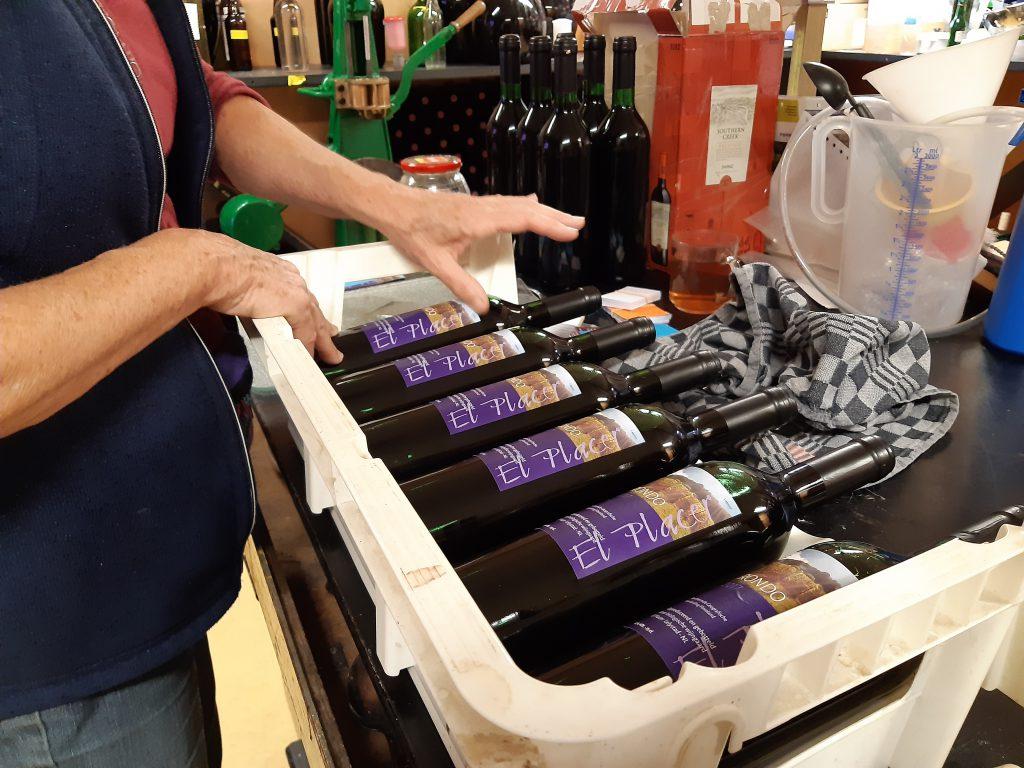 etiketteren Rondo-wijn